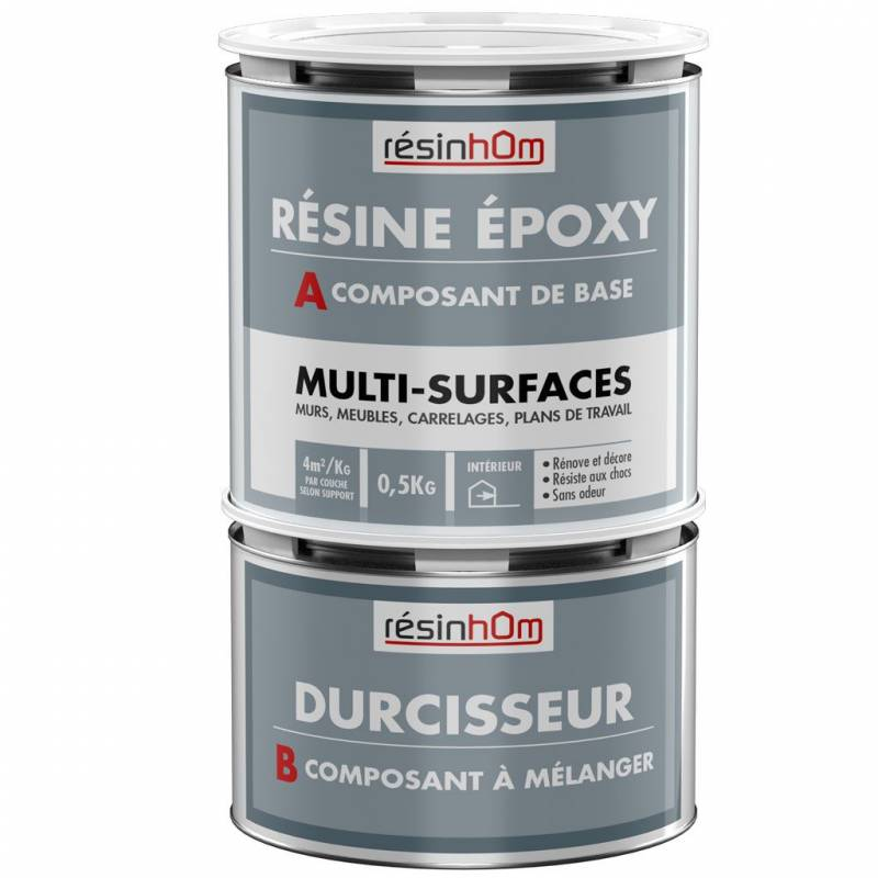 Peinture carrelage r sine epoxy resinhom for Epoxy sur carrelage