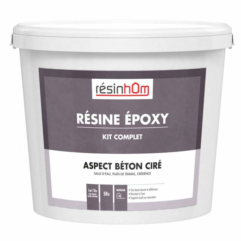 resine epoxy pour beton r sine aspect b ton cir poxy r. Black Bedroom Furniture Sets. Home Design Ideas
