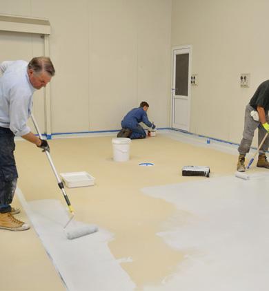 Resine epoxy multi surfaces resinhom - Resine pour sol interieur ...