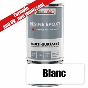 Résine epoxy transparente Multi surfaces 1Kg