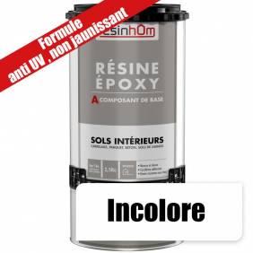 Résine époxy spécial sols intérieur transparente