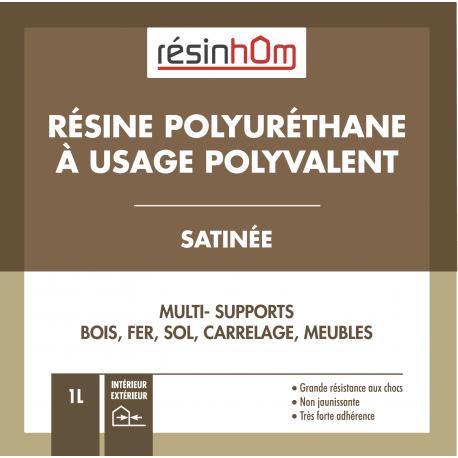Résine de sols autolissante Haut extrait sec 100% résine