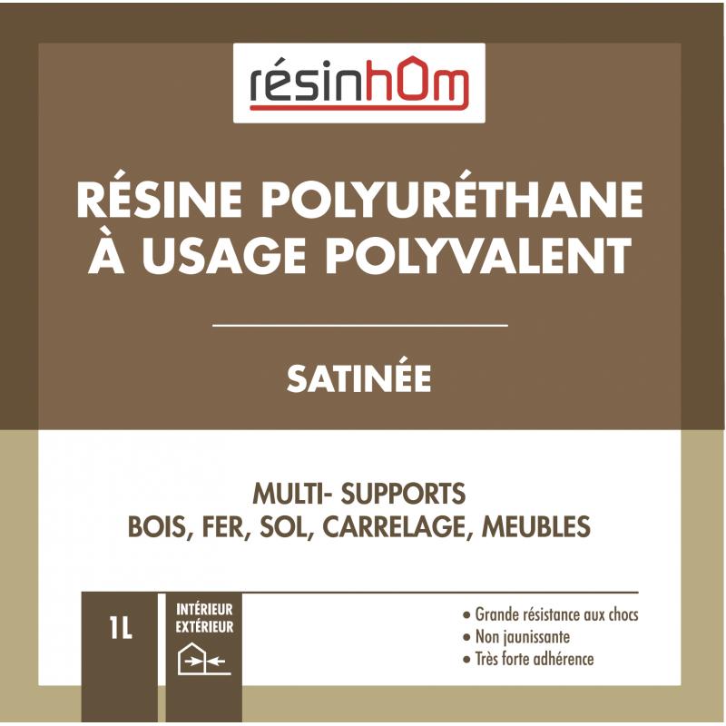 RESINE POLYURETHANE A USAGES POLYVALENT