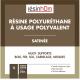 Résine polyuréthane à usages polyvalent INCOLORE