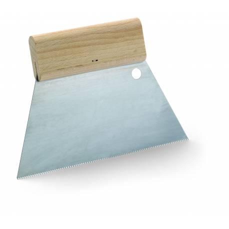 spatule crantée à pointe de 5mm