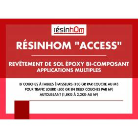 RESINHOM « Access » Revêtement de sol Epoxy Bi composant