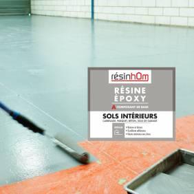Résine epoxy spécial sols intérieur 2.5kg pour 20 M2