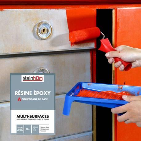 Résine epoxy Multi surfaces 1kg pour 8 M2