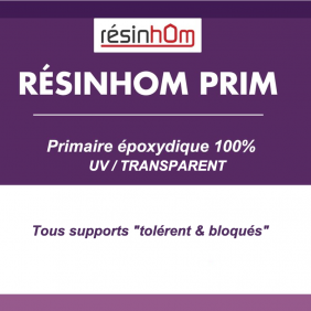 Primaire époxy 100% Transparent UV