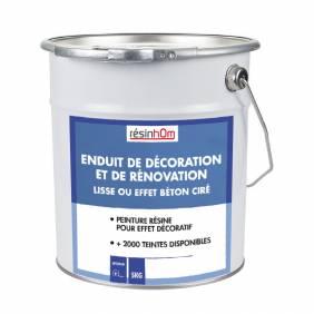 Enduit de Décoration et de Rénovation (lisse ou effet béton ciré)