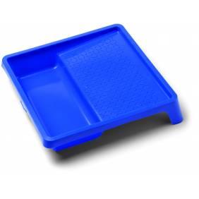 Bac à peinture bleu